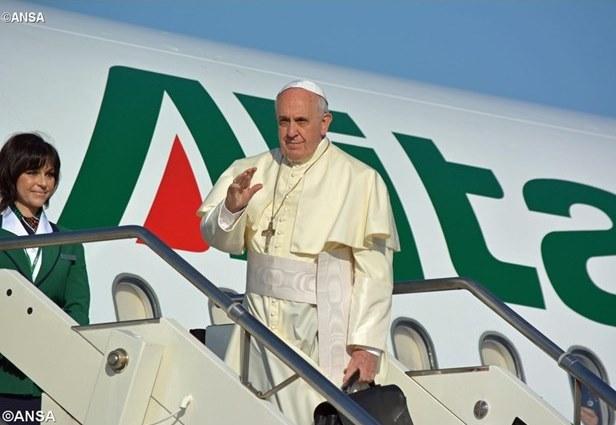 папа літак