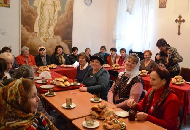 Зустріч волонтерів Карітасу