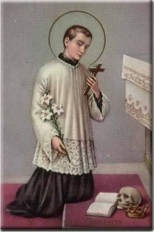 Святий Алойзій Гонзага
