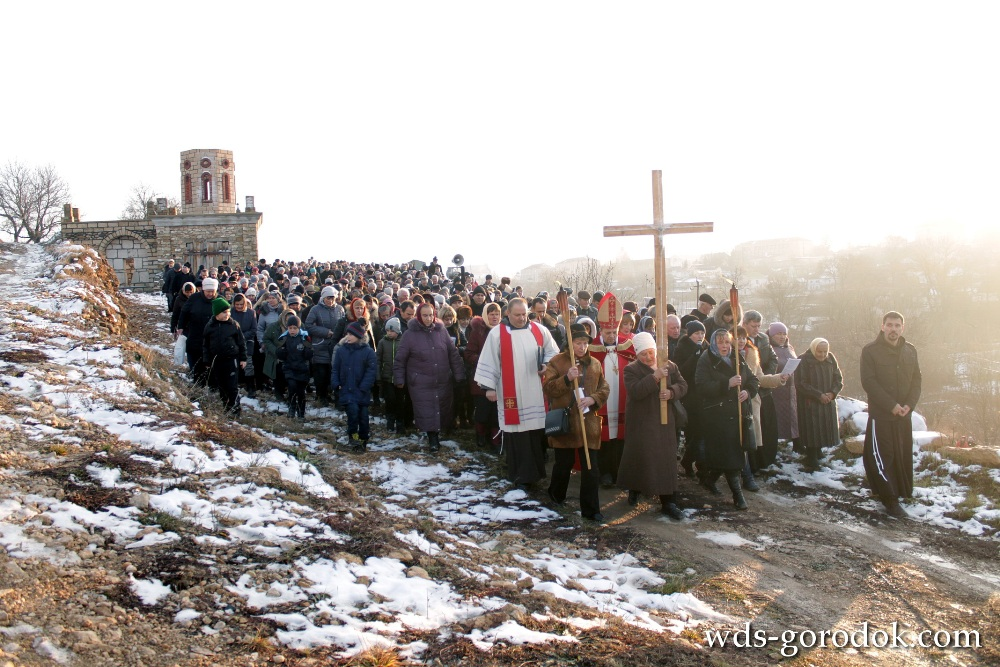 Хресна Дорога в Шаргороді
