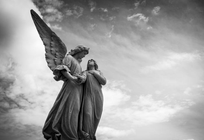 ангели цвинтар листопад