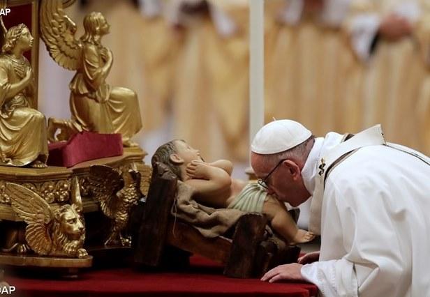 Папа Франциск Різдво 2016