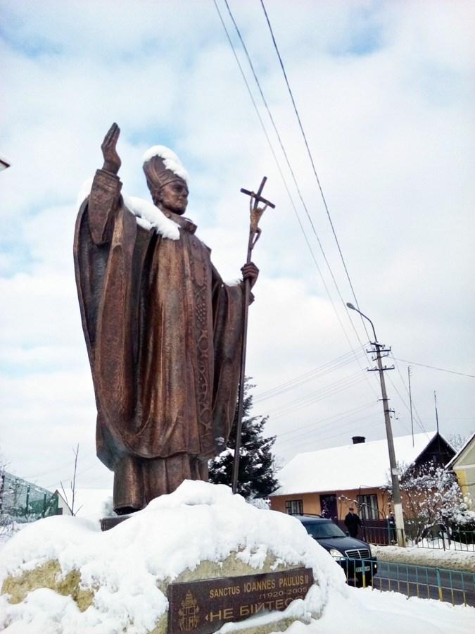 Статуя Йоана Павла II