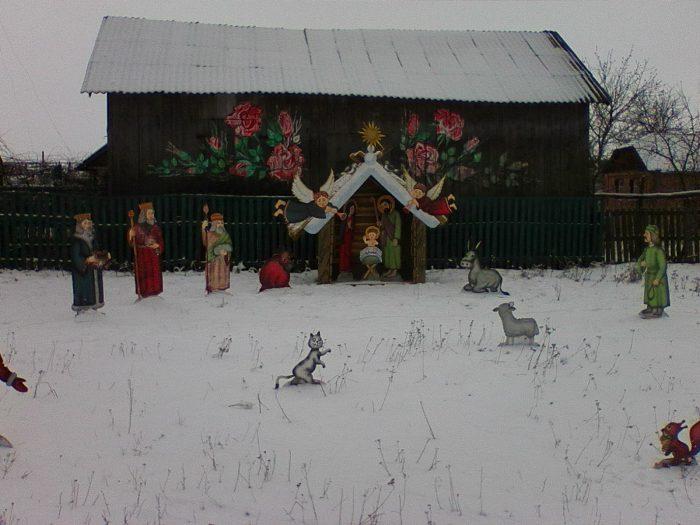 Вертеп у селі Гвіздава