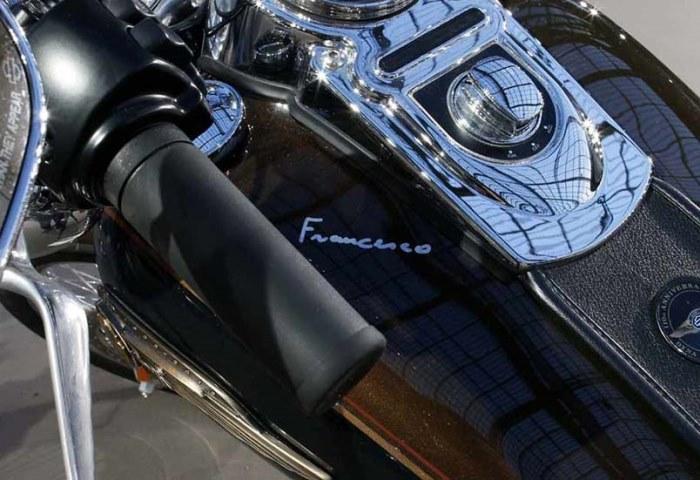 мотоцикл папа благодійність