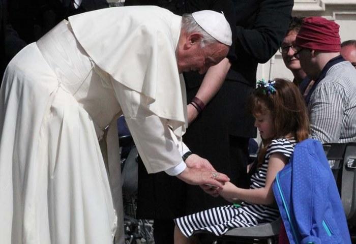 Папа Франциск аудієнція