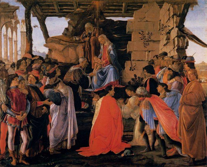 Різдво_поклоніння волхвів